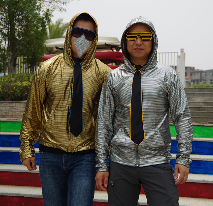 electro hoodie led