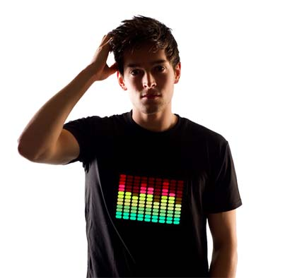 custom led shirts