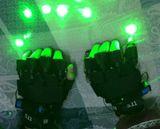 Green 4 laser gloves