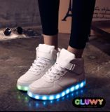 Lighting LED shoes - White sneakers