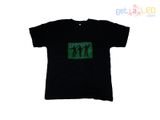 Led el t-shirt - Dance green