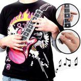 T shirt geek - Playing guitar