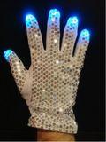Disco RGB gloves - silver