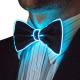 Flashing bow ties - Blue