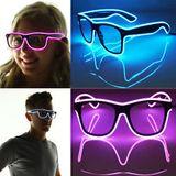 Way Ferrer Flashing Glasses - Pink