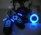 LED shoelaces - blue