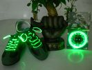 Light up shoelaces - green