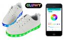 Lighting LED bluetooth shoes - White