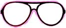 Neon glasses - Pink