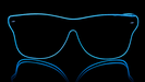 Way Ferrer Neon glasses - Blue