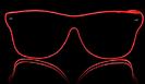 Way Ferrer Shining Glasses - Red