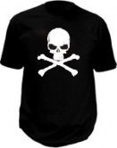 Electroluminescent shirts - Pirates