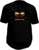 Ironman T-shirt with led panel