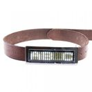 Led Belt - White Metalic Frame