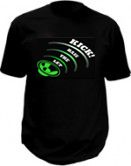 Led tee shirts - Let the bass kick