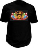 Tee shirt led - Amazing Hi-Fi